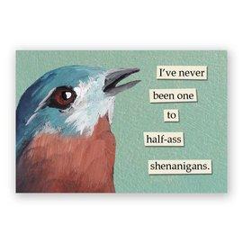 Mincing Mockingbird Shenanigans Magnet