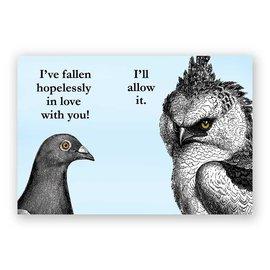 Mincing Mockingbird Hopelessly In Love Magnet