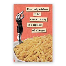 Mincing Mockingbird Riptide of Cheese Magnet