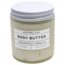 Estrella Soap Grapefruit Vanilla Body Butter