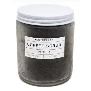 Estrella Soap 8oz Vanilla Coffee Scrub