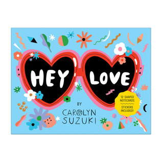 Chronicle Books Hey Love Shaped Notecards