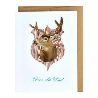 Cracked Designs Father's Day - Deer Old Dad