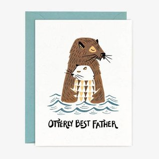 Paper Pony Co. Father's Day - Otterly Best Father