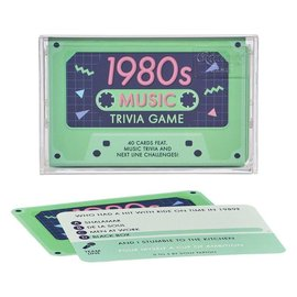 Wild & Wolf Inc. Music Trivia Game - 1980s
