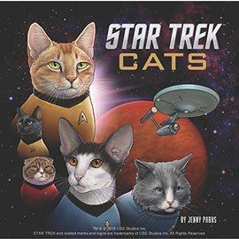 Chronicle Books Star Trek Cats