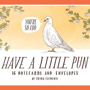 Chronicle Books Have A Little Pun Notecard Set