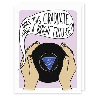 Seriously Shannon Graduation Card - 8 Ball