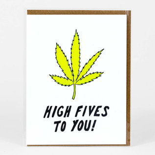 Buy Olympia Congrats Card - Weed High Five