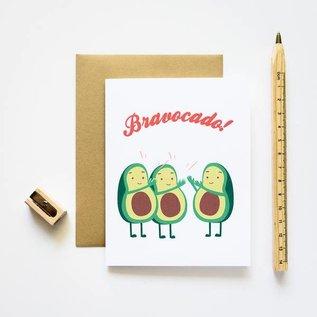 ilootpaperie Congrats Card - Bravocado