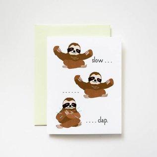 ilootpaperie Congrats Card - Slow Clap