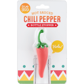 True Fabrications Chili Pepper Bottle Stopper