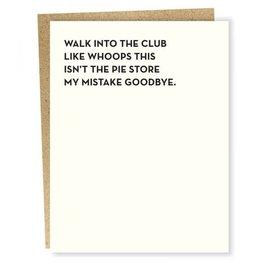 Sapling Press Greeting Card - The Club