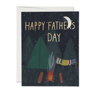 Red Cap Cards Father's Day - Camping Dad