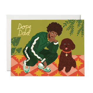 Red Cap Cards Father's Day - Dope Dad
