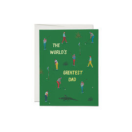 Red Cap Cards Father's Day - Golf Dad