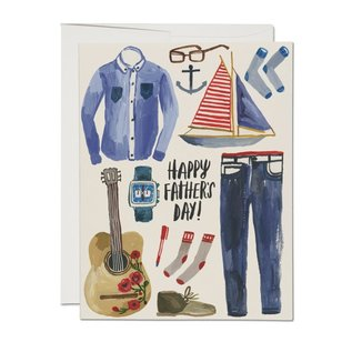 Red Cap Cards Father's Day - Father's Things