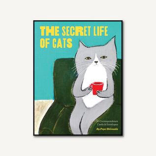 Chronicle Books Secret Life of Cats Correspondence Cards