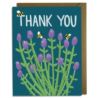 Kat French Design Thank You Card - Bees