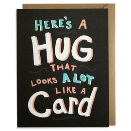 Kat French Design Greeting Card - Hug Card