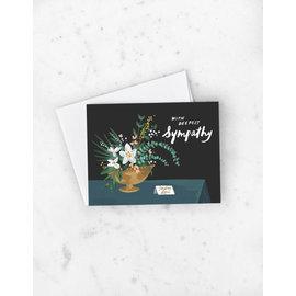 Idlewild Sympathy Card - Magnolias