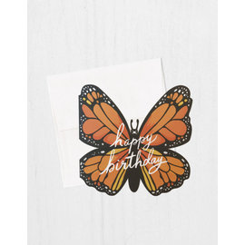 Idlewild Birthday Card - Monarch