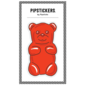 Pipsticks Big Puffy Gummy Bear Sticker