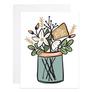9th Letter Press Sympathy Card - Sorry For Your Loss