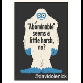 Ephemera Abominable Snowman Magnet