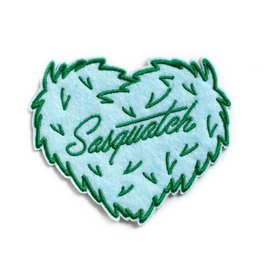 Ello There Sasquatch Heart Sticky Patch