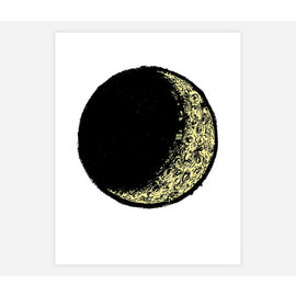 Buy Olympia Slow Loris Crescent Moon Print