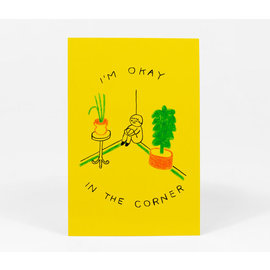 Buy Olympia I'm Okay in the Corner Postcard