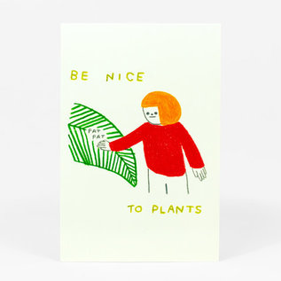 Buy Olympia Be Nice To Plants Postcard