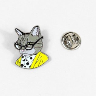 Buy Olympia Tabby Cat Lady Pin
