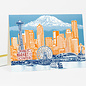 Buy Olympia Greeting Card - Seattle To Mt. Rainier