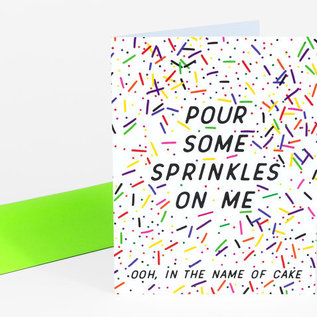 Buy Olympia Birthday Card - Pour Some Sprinkles On Me