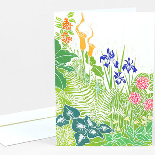 Buy Olympia Greeting Card - Early Summer Garden