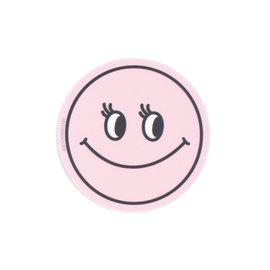 Seltzer Smiley Pink Sticker