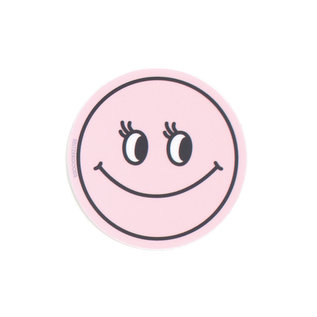Seltzer Smiley Pink Sticker