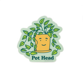 Seltzer Pot Head Sticker