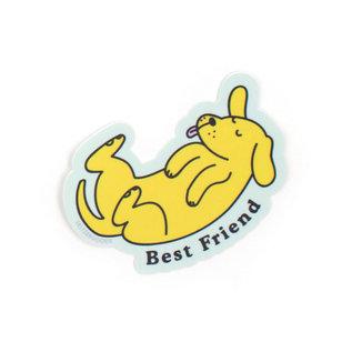 Seltzer Best Friend Dog Sticker