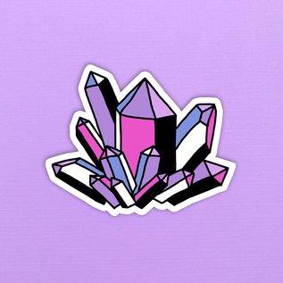 Band of Weirdos Crystal Sticker