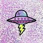 Band of Weirdos UFO Sticker