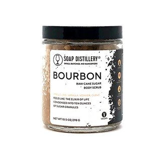 Soap Distillery Bourbon Sugar Scrub