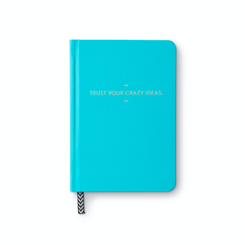 Compendium Trust Your Crazy Ideas Motto Journal