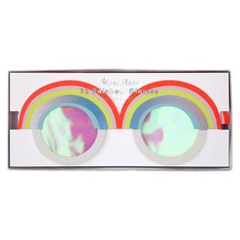 Meri Meri SALE Rainbow Paper Glasses