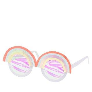 Meri Meri Rainbow Paper Glasses