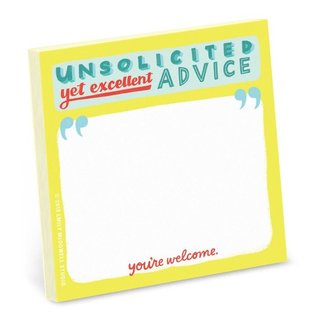 Emily McDowell and Friends Unsolicited Advice Stickies