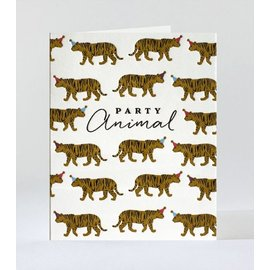 Elum Birthday Card - Party Animal Tigers