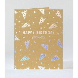 Elum Birthday Card - Pizza Dream